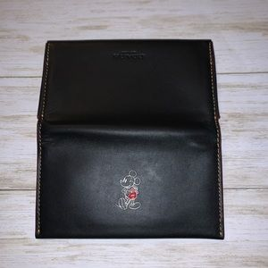 Mickey Coach Phone Card Wallet